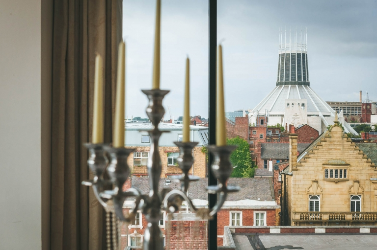 view of Liverpool Metropolitan Cathedral