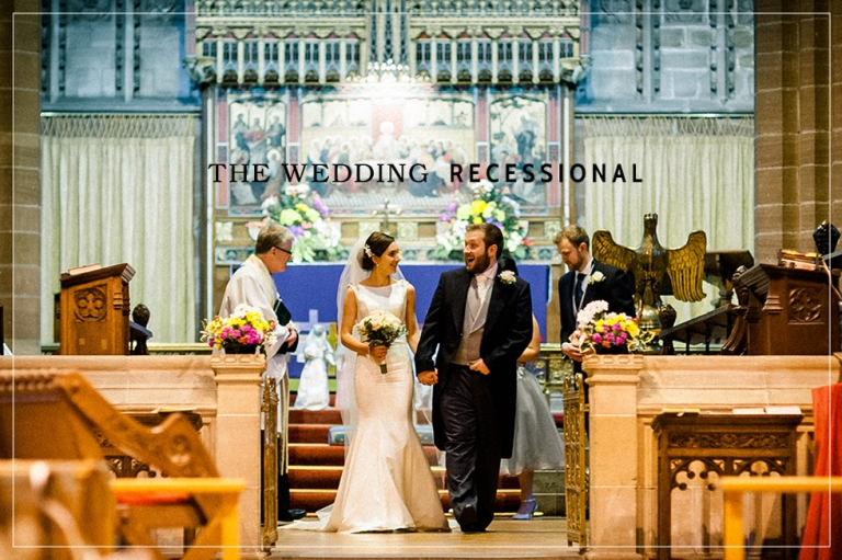 Walking back down the aisle the wedding recessional liverpool wedding recessional placeholder junglespirit Images