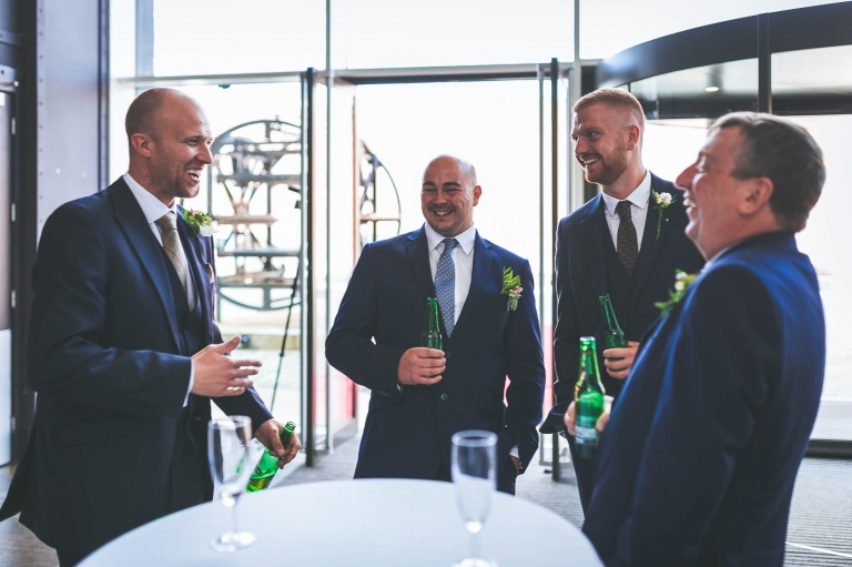 best man tells a joke