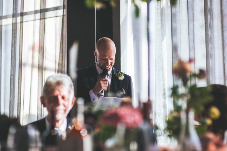 best man gives his speech