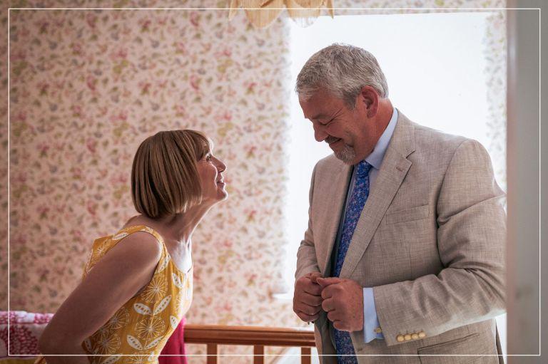 brides mum and dad