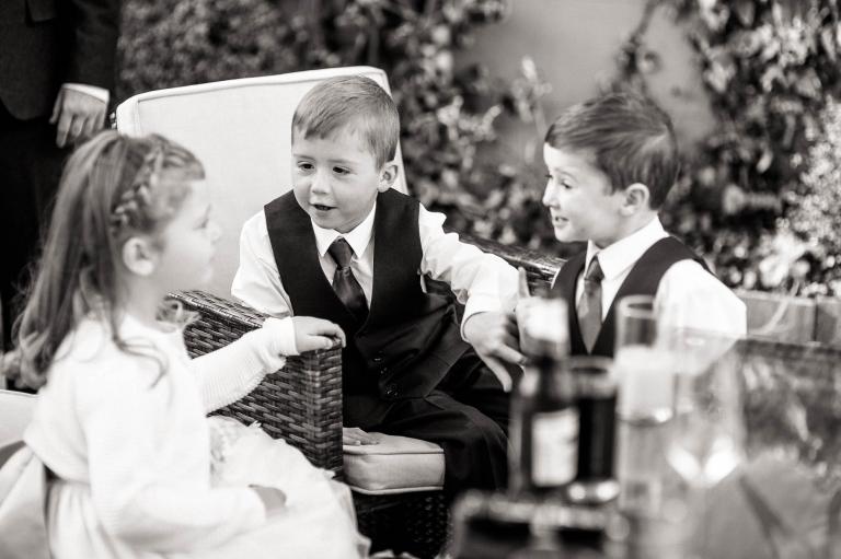children share a joke