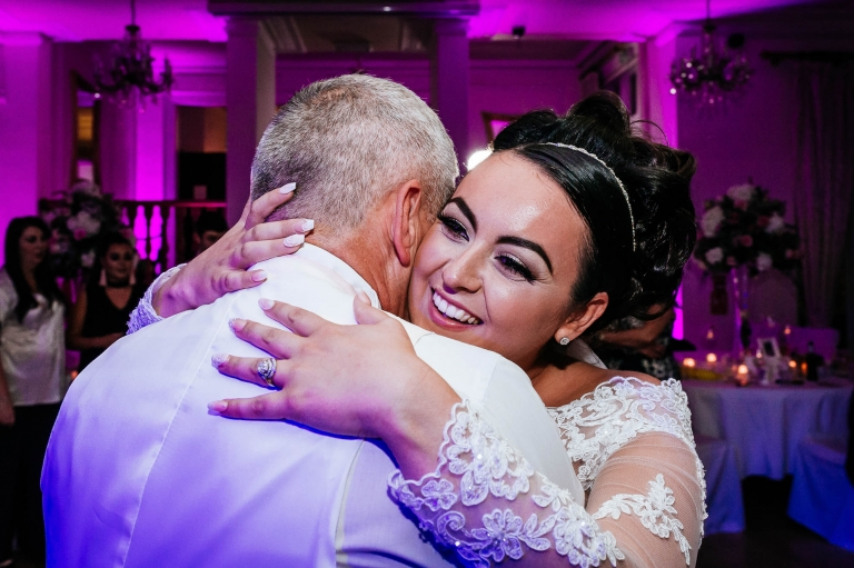 father of the bride dances with the bride