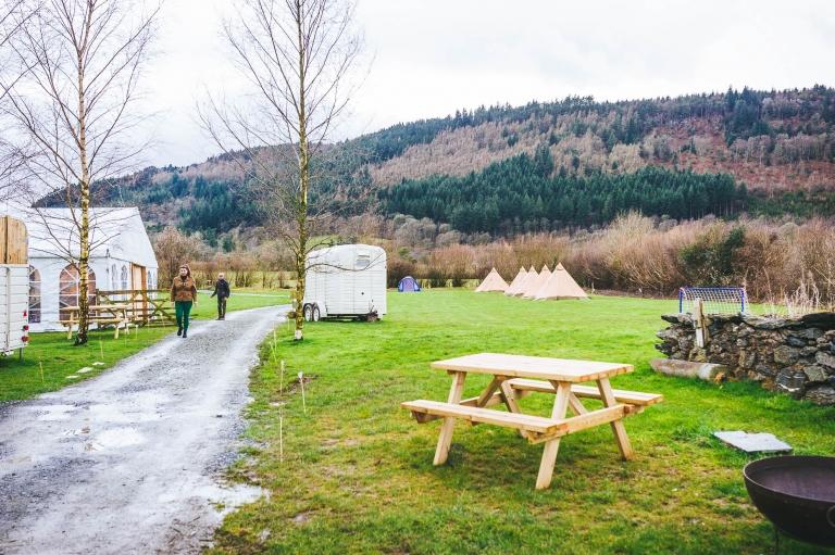 Hafod farm wedding venue