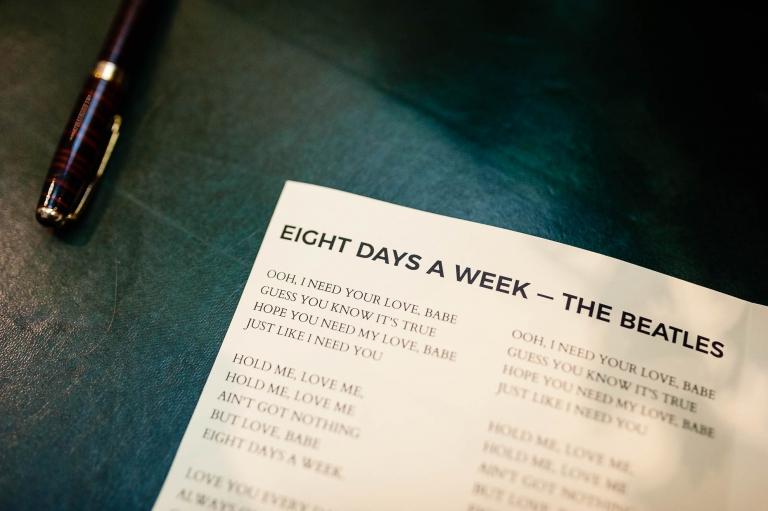 8 Days a week song lyrics
