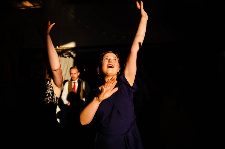 Bridesmaid Ceilidh dancing