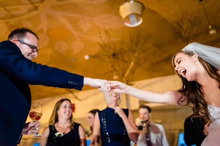 Bride dances with her brother