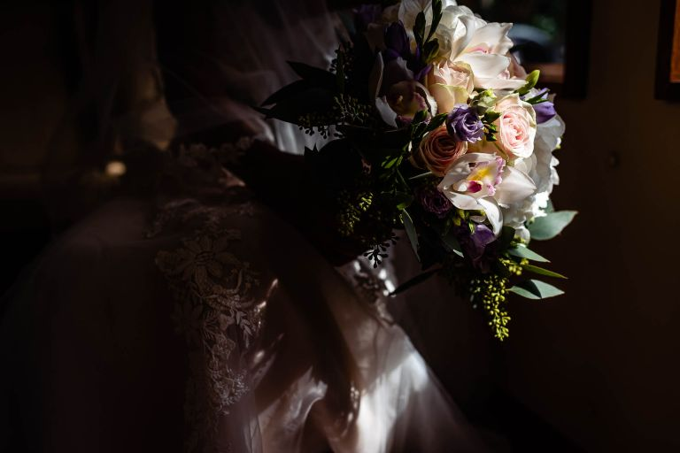 Brides flower bouquet